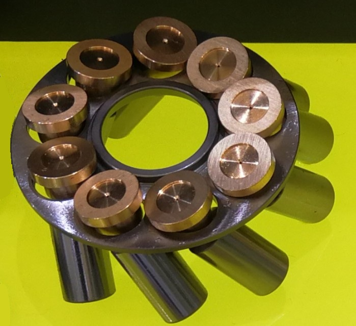 Yuchai excavator walking motor YC35-6 hydraulic pump spare parts repair kit hyvst spare parts hydraulic housing for spx150 350 1501048