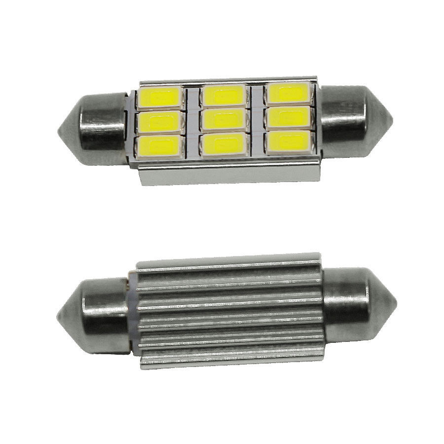 цены  9 LED 5630 SMD Festoon C5W CANBUS ERROR FREE Auto Car Dome License Plate Map Reading Light Bulb 12V 36mm White Ice Blue