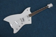 Top Verkauf Weiß Gre.6199 Billy-Bo Jupiter Thunderbird E-gitarre China OEM Guitarra Linkshänder Kunden