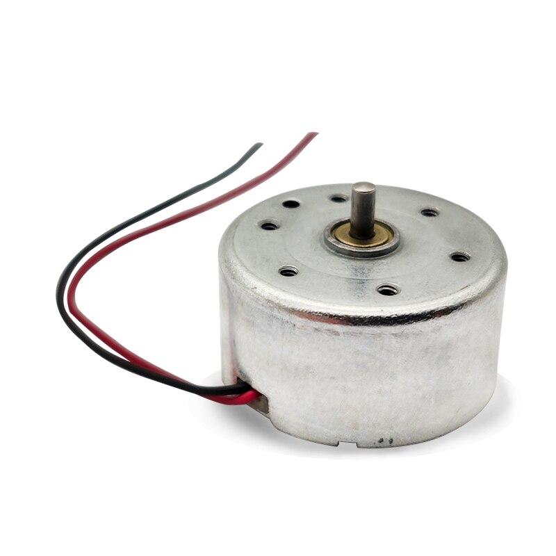 Micro Solar Power Motor 300 DC3V 4.5V 5V Miniature Permanent Magnet DC Motor for Scientific Hobby Toys Model DIY Accessories