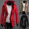 New! Hot! 2016 Autumn And Winter Jacket Male Outerwear Male Slim Thin Jacket Men's Clothing M~XXL