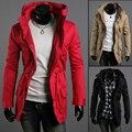 Nueva! caliente! 2016 otoño y el invierno de la chaqueta para hombre ropa de abrigo para hombre delgado hombres de la chaqueta delgada de ropa M ~ XXL