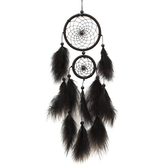 Dream Catcher Group Home India Handmade Black Dream Catcher handmade Rattan Dreamcatcher 34
