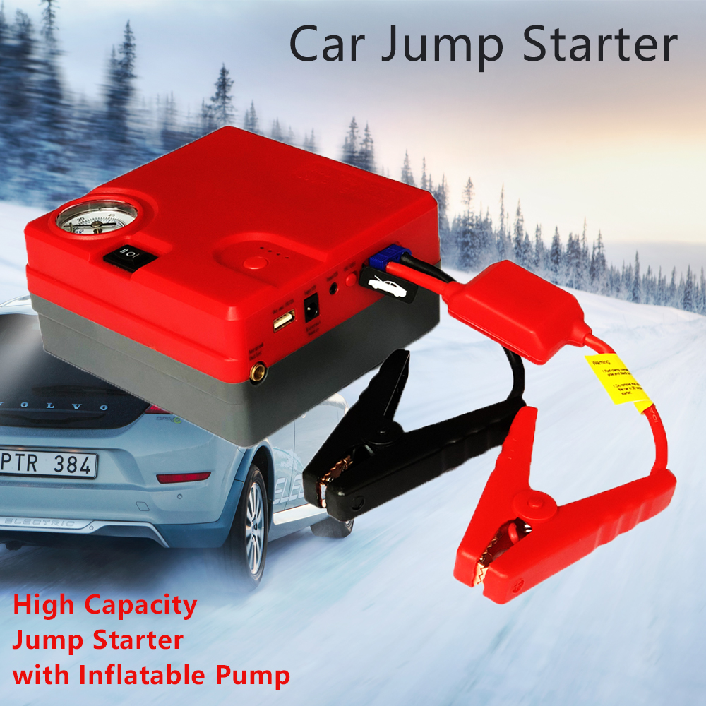 High Capacity Jump Starter 12V Car Starter Battery Emergency Diesel Petrol Starting Device Booster Power Bank