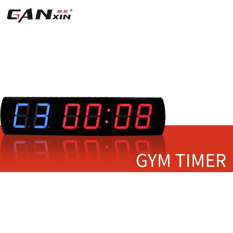 [Ganxin] 4-дюймовый тренажерный зал Кроссфит таймер, время тренировки и время отдыха, а также не будут поочередно