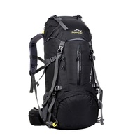 Sport Climbing Outdoor Camping Travel Bags Pack Climbing Backpack Knapsack With Rain Cover Large Waterproof Hiking