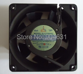 SANJUN SANJU Axial Flow Fan Ball Bearing SJ1238HA2 AC220V 7F Plastic Impeller Made In Taiwan Sleeve Bearing 220v ac 280x280x80mm axial radiator fan 1341cfm 2400rpm ball bearing high speed