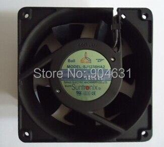 SANJUN SANJU Axial Flow Fan Ball Bearing SJ1238HA2 AC220V 7F Plastic Impeller Made In Taiwan Sleeve Bearing