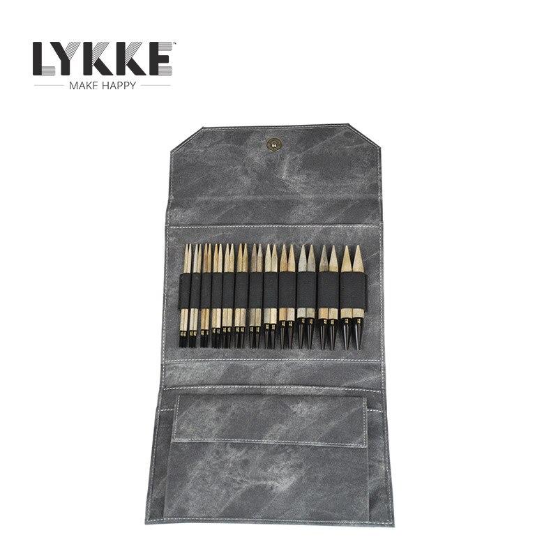 """LYKKE 5 """"(12.5 cm) aiguille à tricoter circulaire Interchangeable-in Outils et accessoires de couture from Maison & Animalerie    1"""