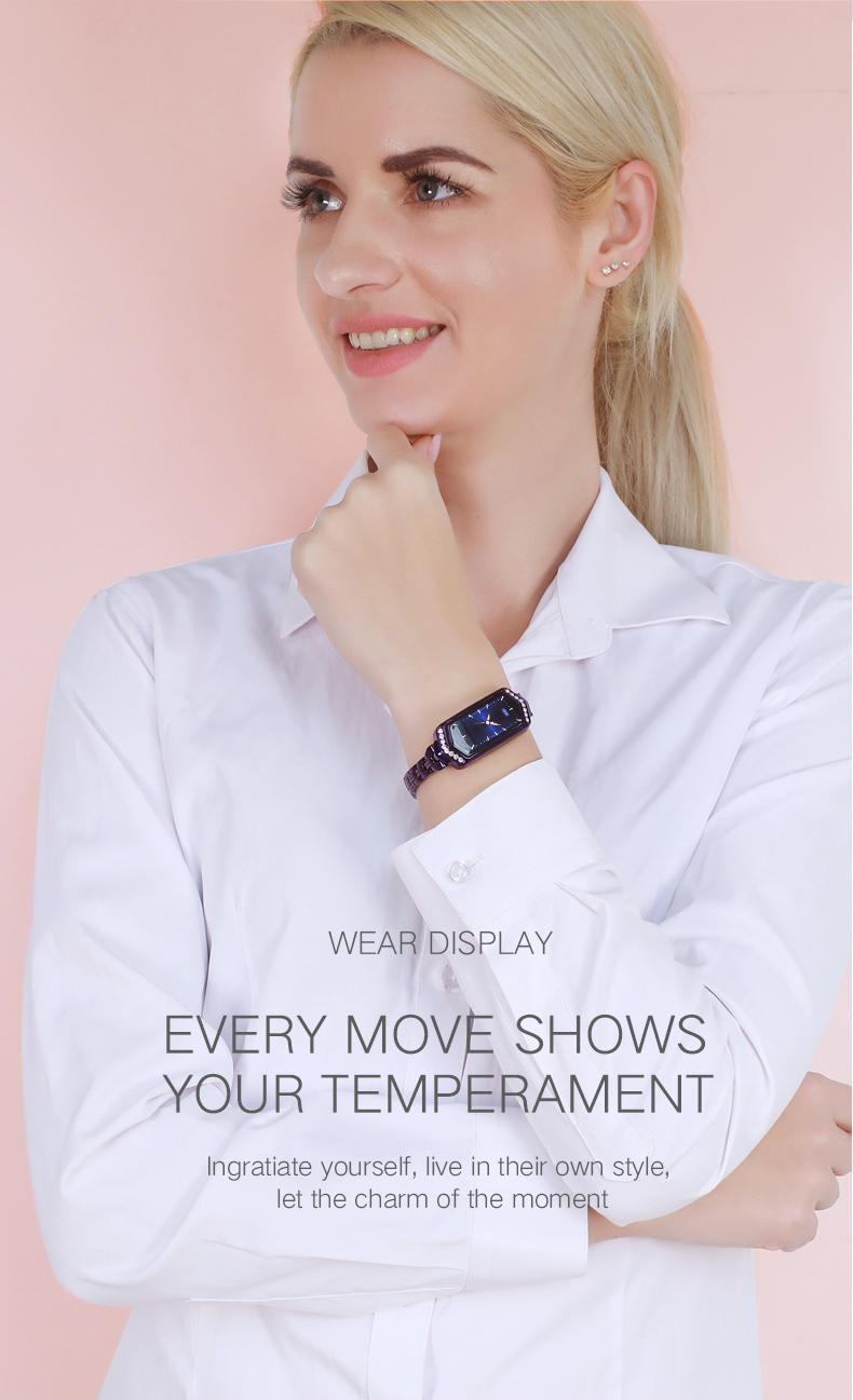 _05 Montre intelligente femmes Fitness
