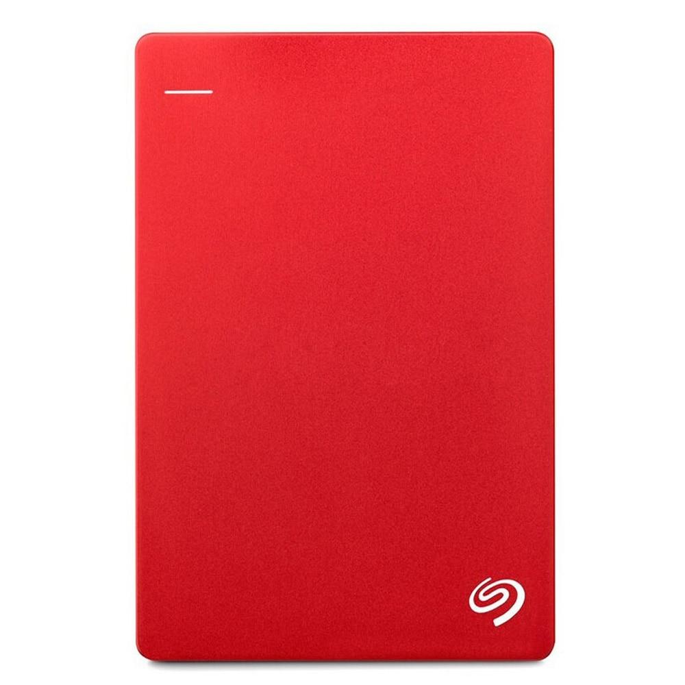 USB 3.0 Ultra Thin Portable 2TB External Hard Drive Storage 2.5 inch Red