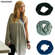 YWHUANSEN 2018 New Mother Lactation Cover Feeding a Child Fashion Women Infinity Scarf Breastfeeding Mommy Nursing Infant Shawl