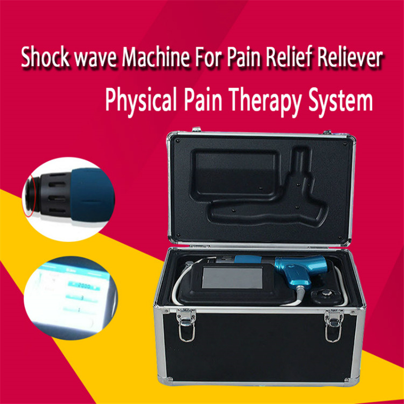 Professional Physical Pain Therapy System Acoustic Shock Wave Therapy Equipment Extracorporeal Shockwave Machine