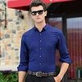 2016 Venda Quente Mais Recente Design Pattern Camisa Dos Homens Vestido Formal do Negócio Dos Homens Camisa Escritório