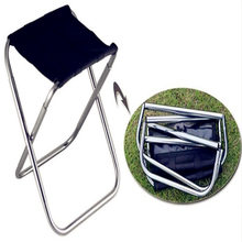 2017 Newest Outdoor ultra-light folding adjustable stool portable strong fishing camp stool chair  MINI aluminum counter stools