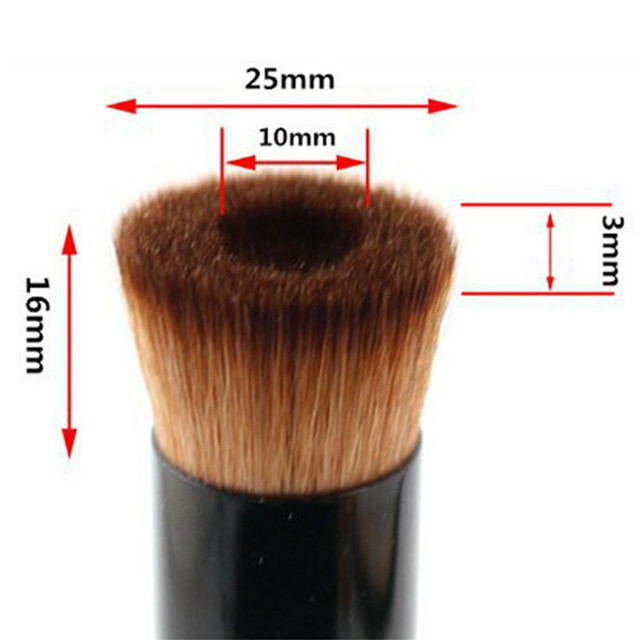 SAIANTTH Black concave liquid foundation brush bb cream single makeup brushes professional beauty tools pincel maquiagem make up 4