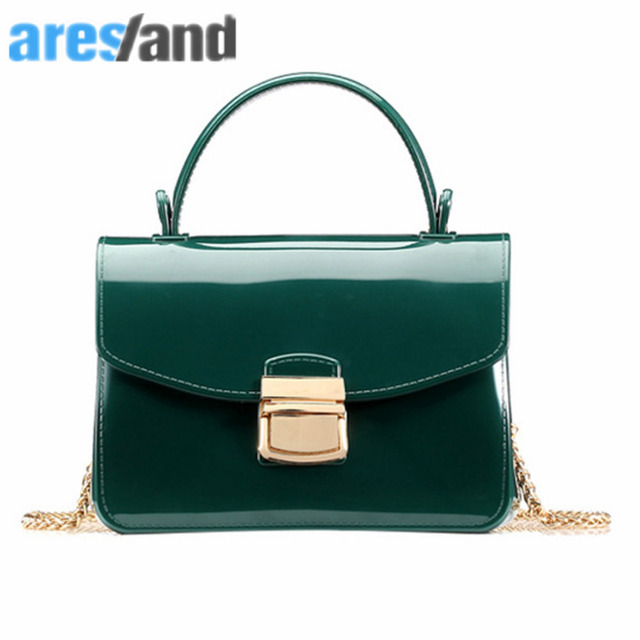 d63dcf384 ARESLAND Summer Women Handbag Leather Chain Ladies Handbags Single-Shoulder  Bag Cute Crossbody Bag- Black Green 2018