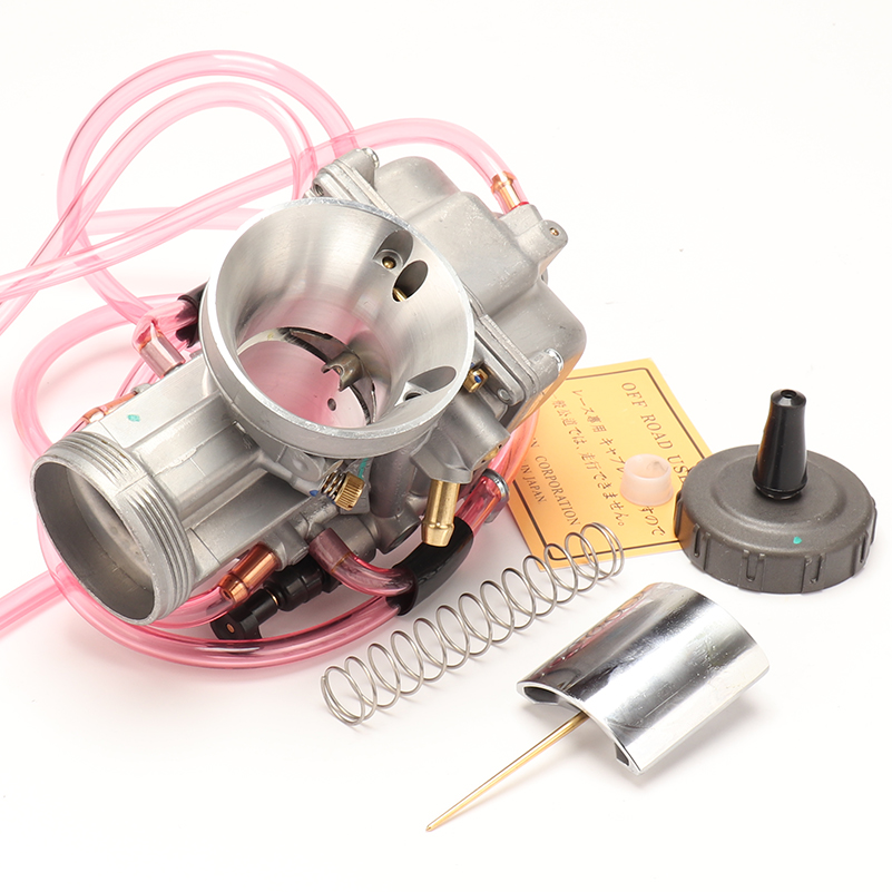 Image 3 - PWK Carburetor 33 34 35 36 38 40 42mm Racing Carb Universal 2T 4T  engine Dirt Bike Motocross Motorcycle Scooter ATV QuadCarburetor   -