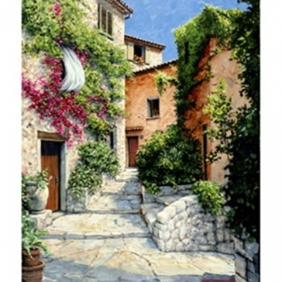 In the Alpes-Maritime  Provence Poster Print by Michael Swanson (13 x 19)