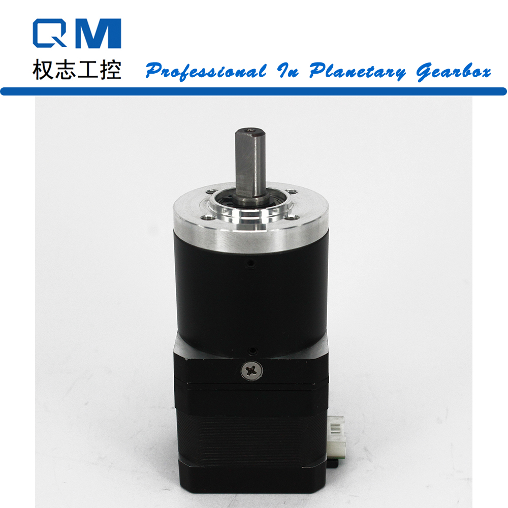 Geared stepper motor planetary gearbox ratio 40:1 nema 17 stepper motor L=34mm cnc robot pump 57mm planetary gearbox geared stepper motor ratio 10 1 nema23 l 56mm 3a
