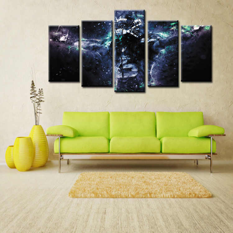 Wholesale 5 Pieces/set Movie Poster Series Canvas Painting for living room Decoration Print Canvas Pictures /Abstrac- (114)