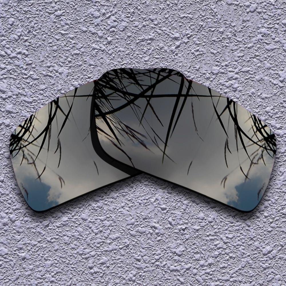 24b1ed2a5 Iridium Polarized preto Lentes de Reposição para óculos de Sol Oakley Gascan
