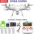 SYMA X8PRO GPS DRONE RC Quadcopter Con Wifi 720 P HD Della Macchina Fotografica FPV Professionale Quadrocopter X8 Pro RC Elicottero può aggiungere 4 K Camera