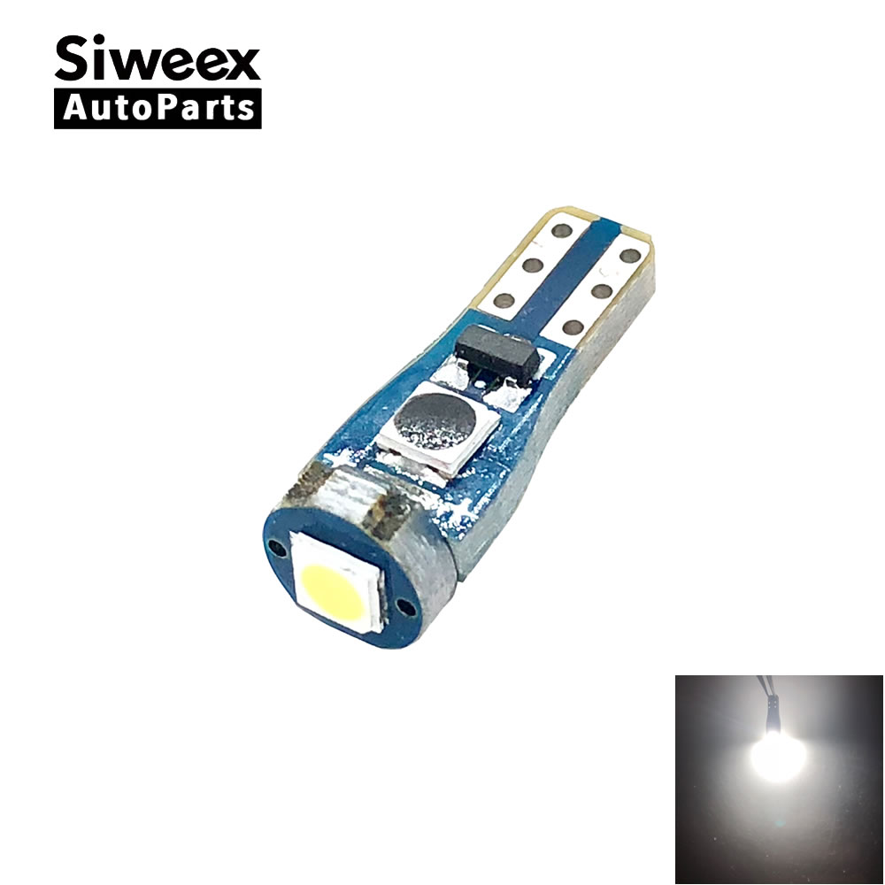 <font><b>T5</b></font> 37 70 73 74 Dashboard 3030 SMD 1 <font><b>LED</b></font> Super Bright Signal Lamp Reading 12V <font><b>24V</b></font> Car <font><b>Led</b></font> Lights White image