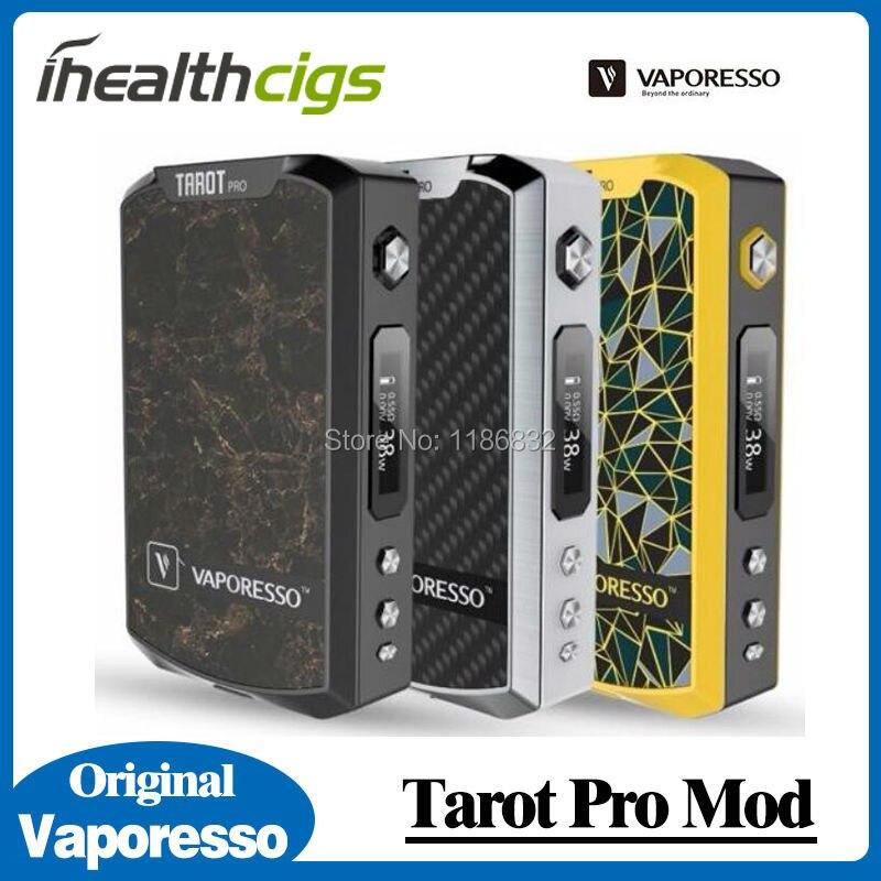 ФОТО 100% Original Vaporesso Tarot Pro Box Mod 200W TC/VW OLED Powered by Dual 18650 Batteries