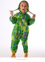Новый стильный унисекс влагозащитный костюм для детей.