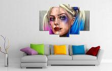 5 Panel Harley Quinn Poster (2 Sizes)