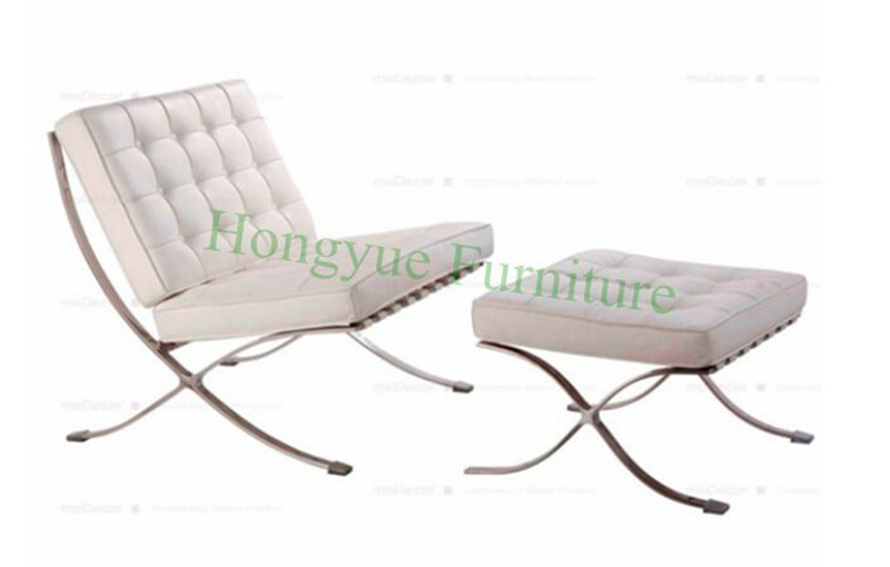 Modern Leather Barcelona Chairs Living Room Chair Furniture