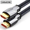 SAMZHE 4K @ 60Hz HDMI 2.0 Kabel HDMI naar HDMI Kabel Ethernet Kabel voor PS3 Projector HD LCD Apple TV Computer laptop naar Displayer