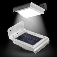 16 LED Solar Light Outdoor LED Bulb Lamp Solar Powered PIR Motion Sensor Light Wall Lights