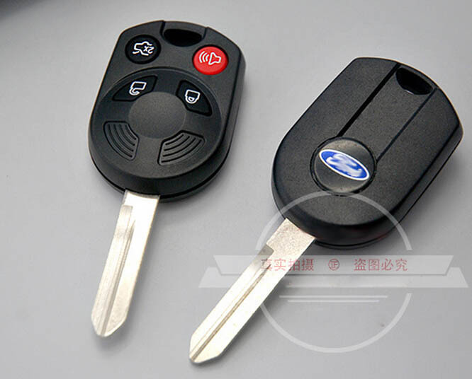 4 buttons remote key shell case for ford raptor kuga. Black Bedroom Furniture Sets. Home Design Ideas