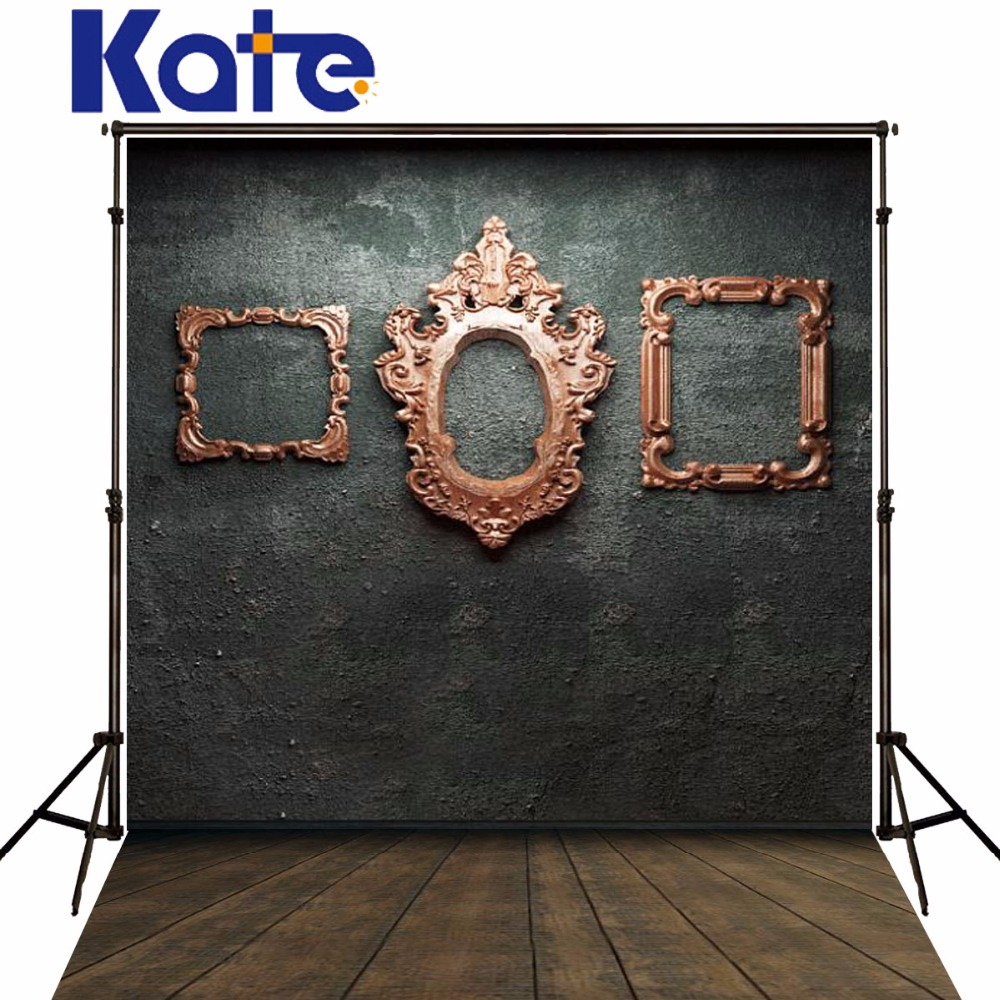 Kate Digital Printing Photography Backdrops Wood Frame Wall Photo Backdrop Wood Floor Brick Wall For Children Background kate digital printing photography backdrop brick wall wood floor background colorful flags for children backdrop wood background