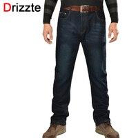 Drizzte Plus Size 36 To 52 Mens Trendy Black Blue Jeans Regular Denim Jean Trousers Large