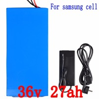 36V 1000W Electric Bike Battery 36V 27AH Lithium Ion Battery 10S E Bike Battery 36V Use