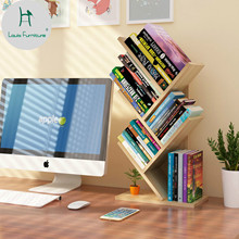 Луи Мода книжные шкафы Творческий Дерево формы студенческий стол с простой детский Рабочий стол простой современный провинции пространство