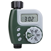 Single Outlet Programmable Hose Faucet Timer with Large Digital Display for Yard Garden Greenhouse irrigation Applications