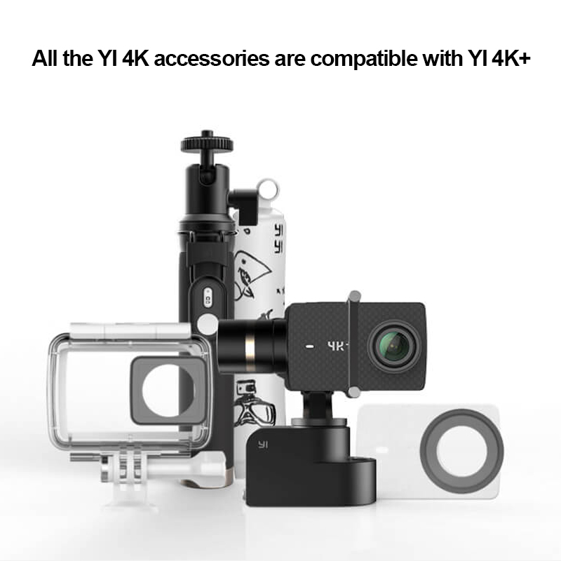 Caméra d'action internationale YI 4 K Plus 155 degrés 2.19