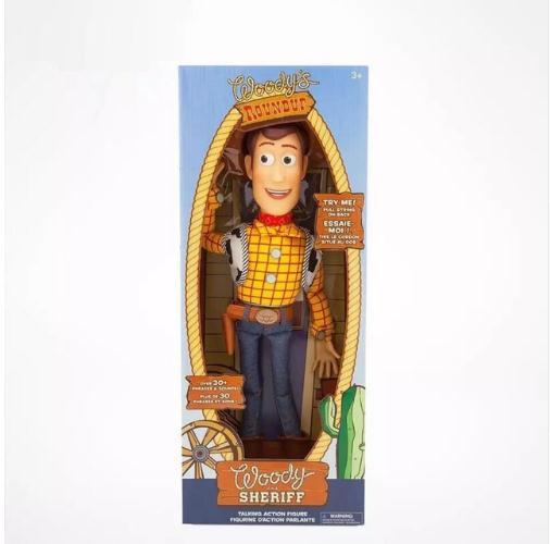 Action Toy Story Woody Can Sing English Song Gift for Children Toys Party Decor Figurine TV Dolls Woody and Jessie Toy Story