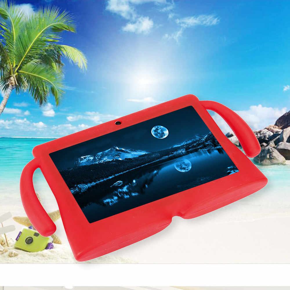 Anti-fouling and anti-fall tablet protector Universal Silicone Gel Protective Back Case Cover For 7 Inch Android Tablet Q88 new