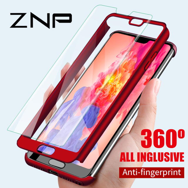 check out 2061a f3028 US $2.31 35% OFF|ZNP 360 Degree Shockproof Case For Huawei P20 Pro Mate 9  10 Lite Phone Cover For Honor 9 Lite Mate 10 Pro Protection Case Shell-in  ...