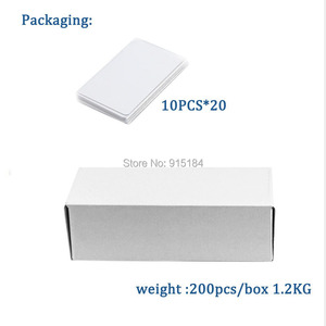 Image 5 - Dual Chip Frequency RFID 13.56Mhz 1K UID and T5577 125 kHz ID blank card Readable Writable Rewrite for copy clone backup copier