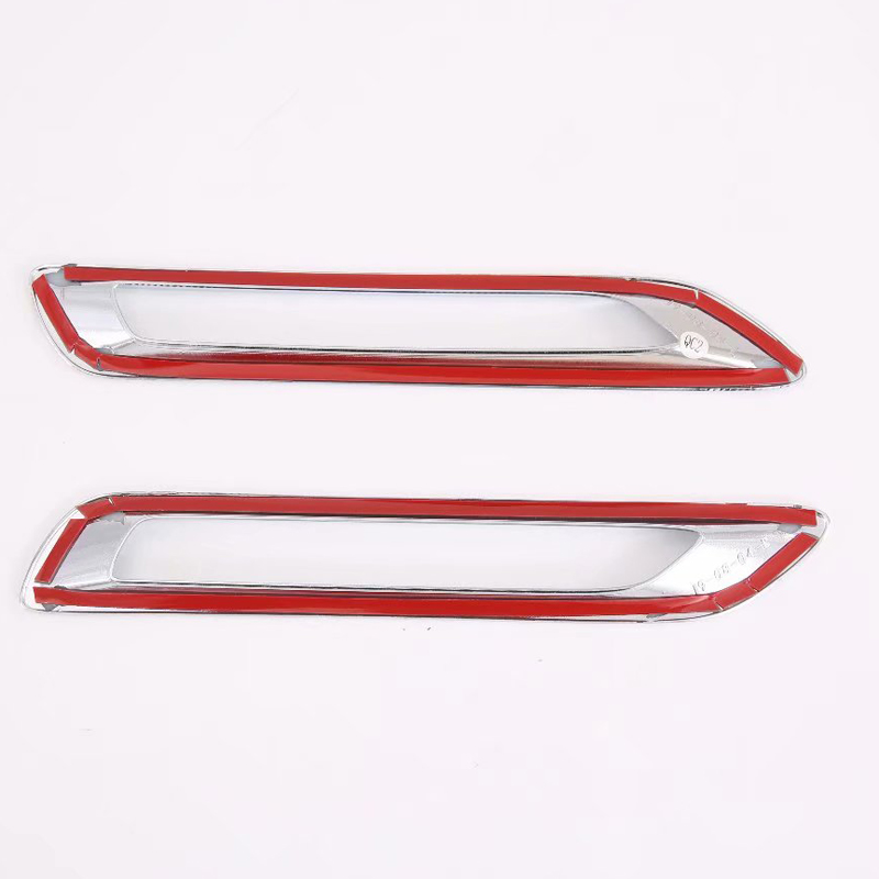 Image 5 - Fit for Toyota RAV4 XA50 2019 2020 ABS Chrome Rear Fog Light Lamp Cover Trim 2pcs Accessories Exterior Trims-in Roof Racks & Boxes from Automobiles & Motorcycles