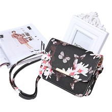 Women Small Butterfly Leather Bag