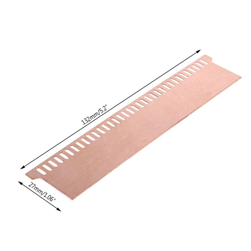 Pure Copper Desktop General Memory Chip Heatsink Cooling Vest 0.5mm Radiator
