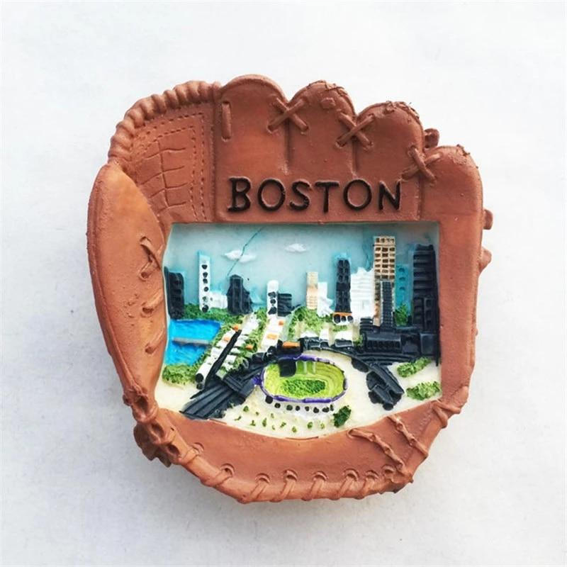 Sarung Tangan Baseball Berbentuk Kulkas Stiker Usa Boston Pemandangan Kulkas Magnet Dekorasi Rumah Hadiah Grosir Magnet Kulkas Aliexpress