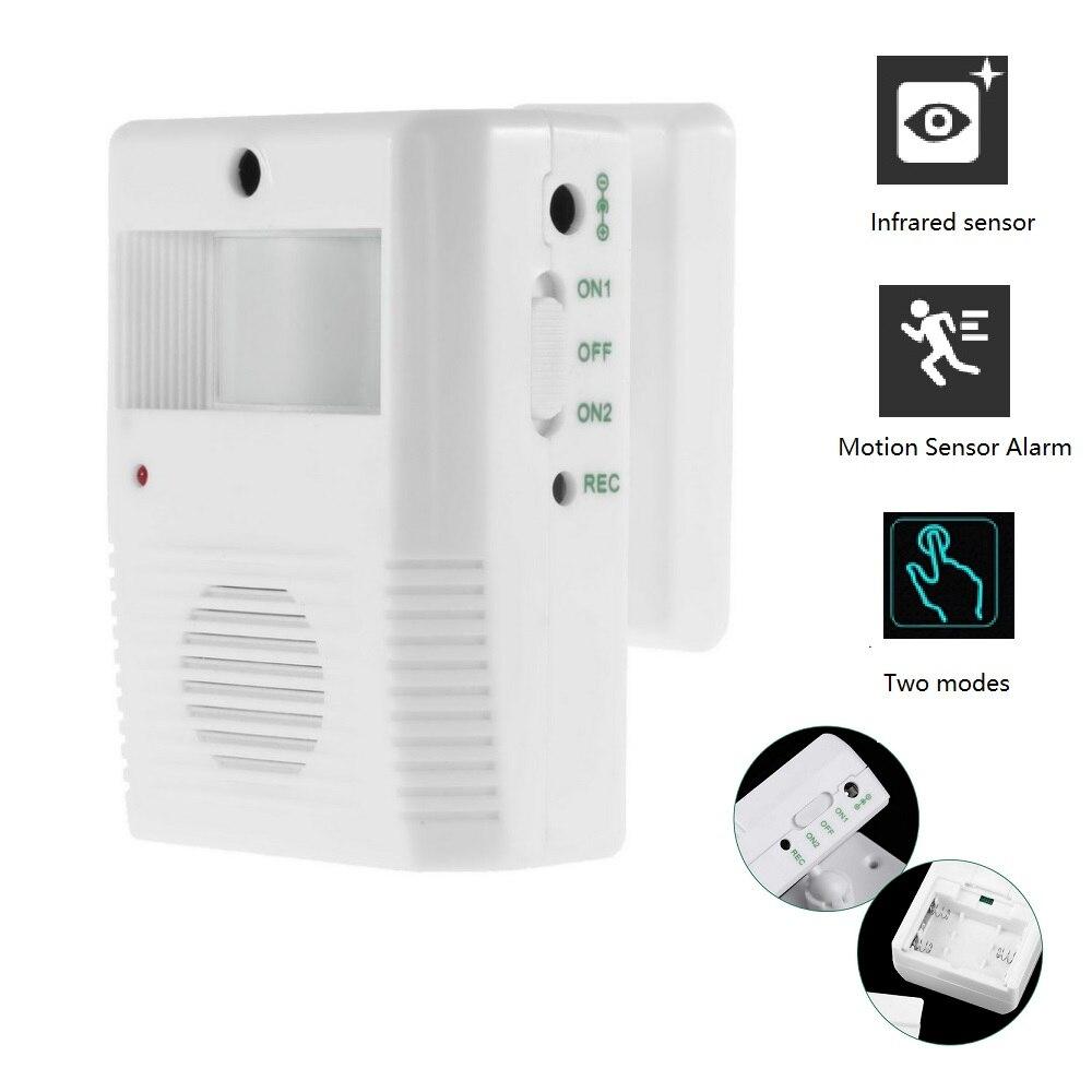 Door Alert Chime Motion Sensor Door Chime For Business Waterproof